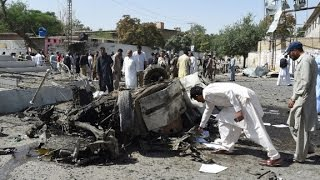Bombings in two Pakistan cities kill at least 38