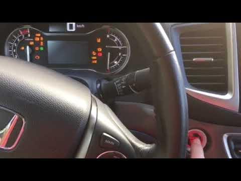 2017 Honda Ridgeline Problem #1 - Start Button