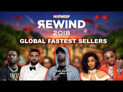 HIP-HOP: Fastest Selling Albums Worldwide of 2018. Eminem, Drake, Post Malone and More