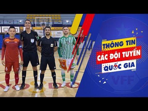 ĐT Futsal Việt Nam 1-2 CLB Real Betis - Giao hữu tại Tây Ban Nha - VFF Channel - 동영상