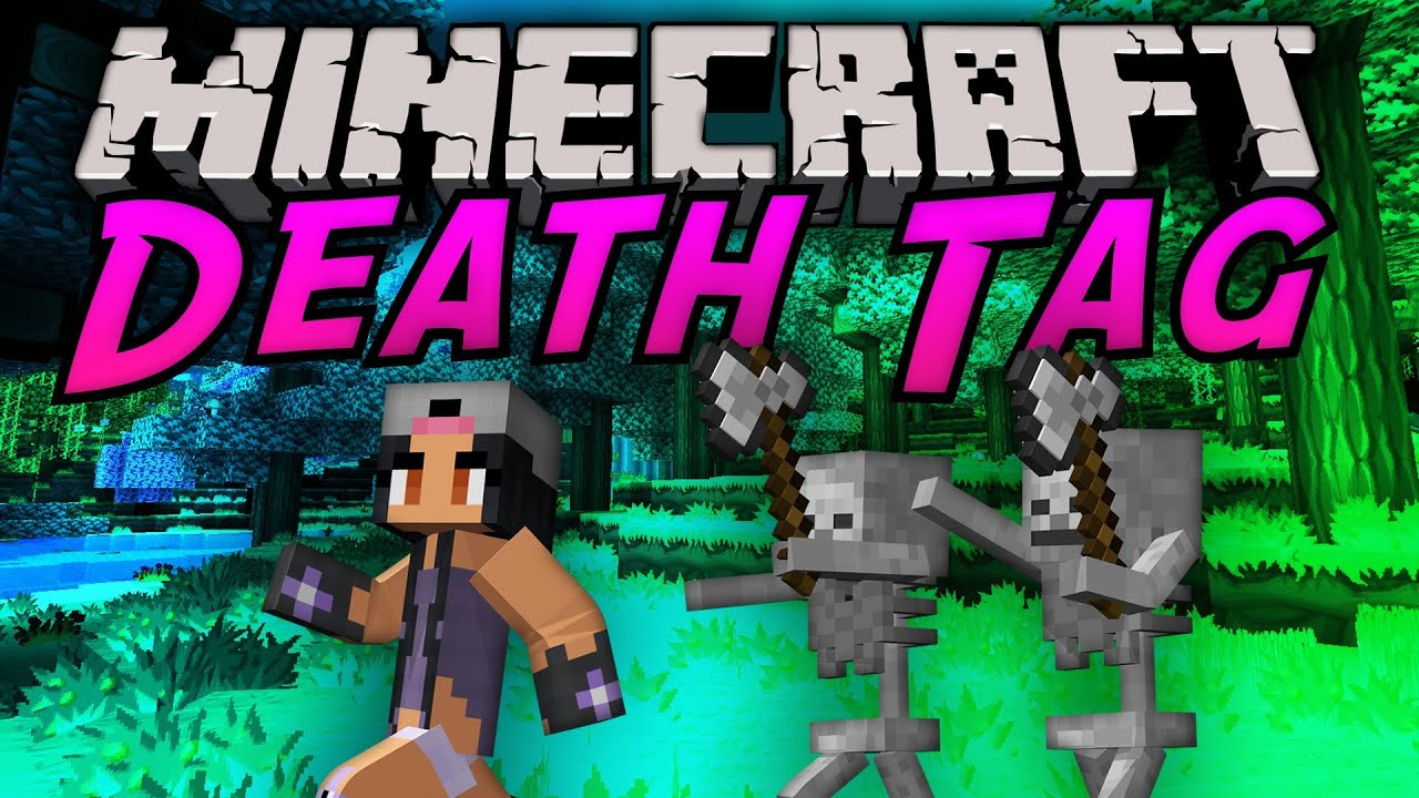THE DIAMOND MINECART Minecraft | DEATH TAG!! | Minecraft ...