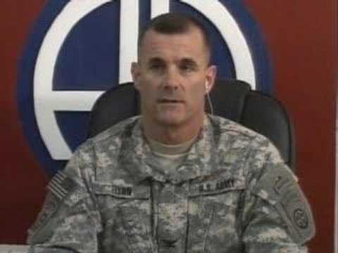 Iraq Briefing  Col  Charles Flynn