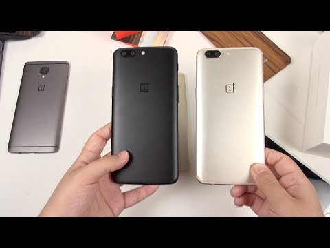 Soft Gold OnePlus 5 || Unboxing & Thoughts (It