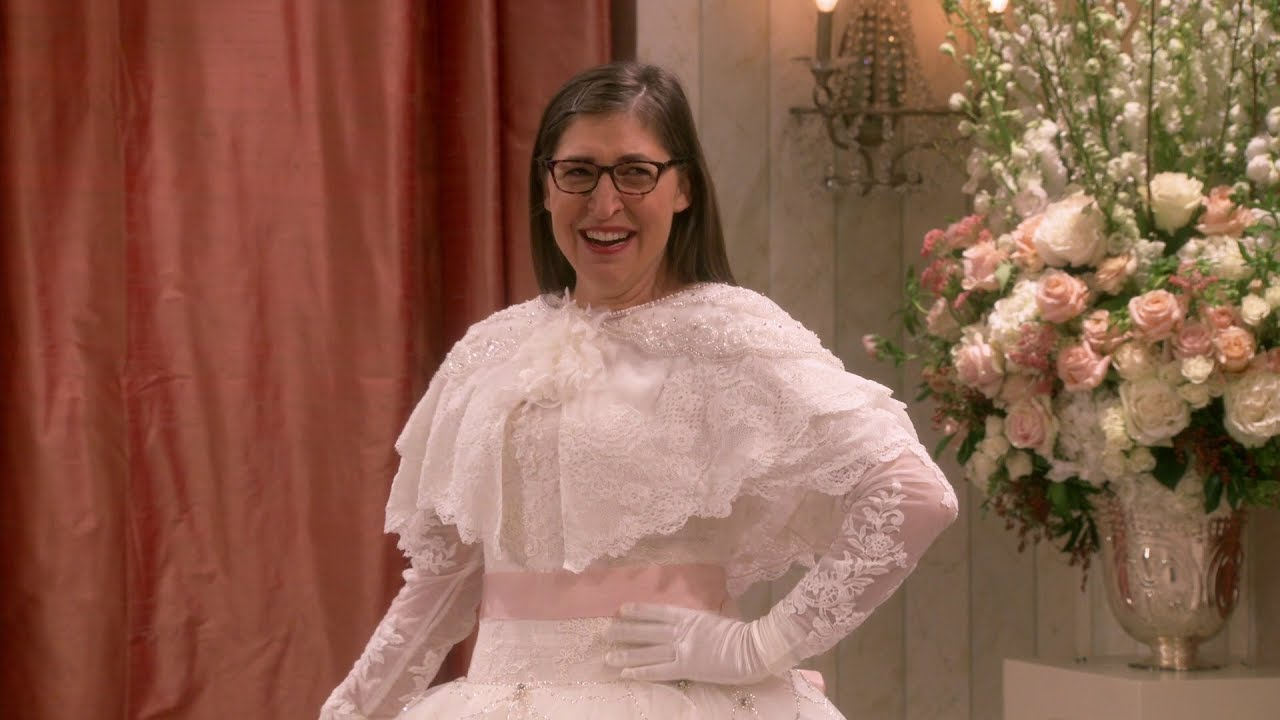 The Big Bang Theory - Amy finds her wedding dress - YouTube
