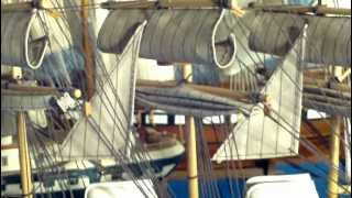 Square Rigged Model Ships