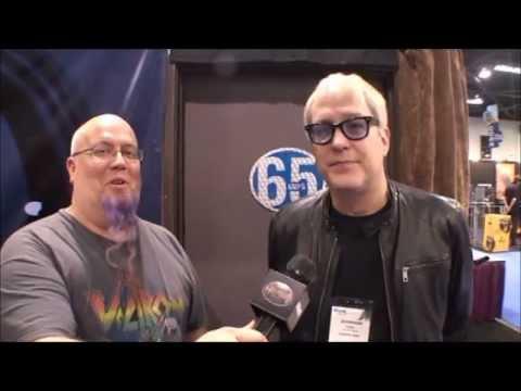Hugh McDonald of Bon Jovi Interview at NAMM with Groovey TV