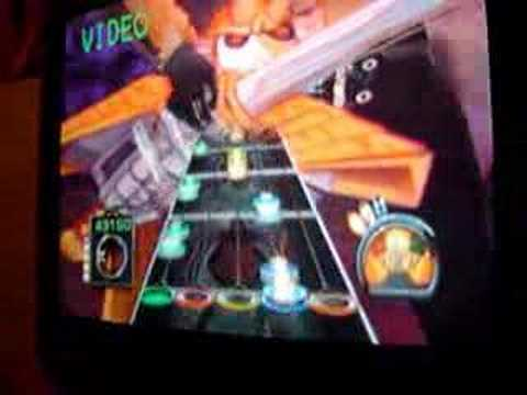 11 Year Old-Through Fire and Flames Guitar Hero 3 Expert