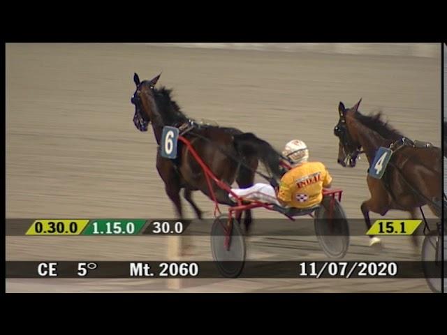 2020 07 11 | Corsa 5 | Metri 2060 | Gran Premio Avv. Augusto Calzolari - Citta' Di Cesena Femmine
