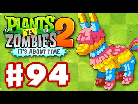Plants vs. Zombies 2: It's About Time - Gameplay Walkthrough Part 94 - Piñata Party! (iOS)
