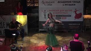 Восточный танец под этнические барабаны. Академия Танца и Музыки г. Саратов