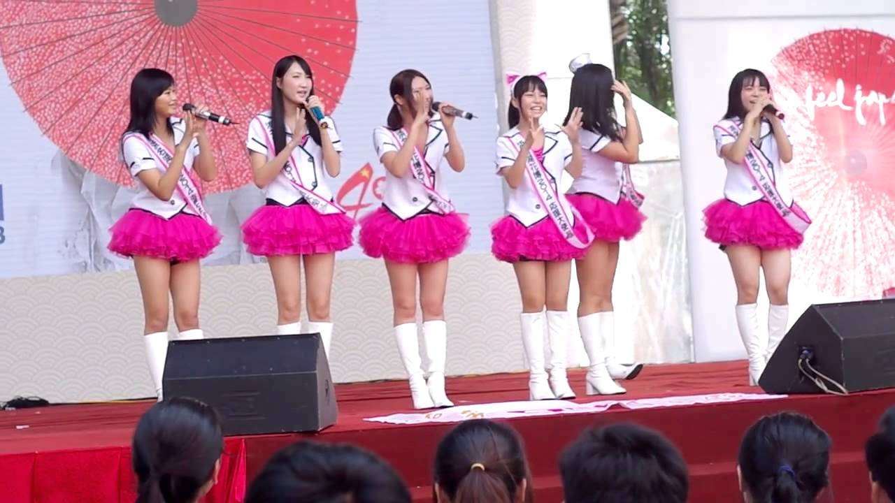H&A idol group at Japan Festival 17/11/2013 Part 1