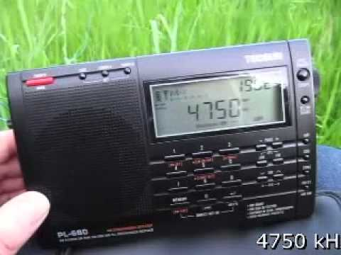 African Shortwave DX received in Germany on Tecsun PL-660
