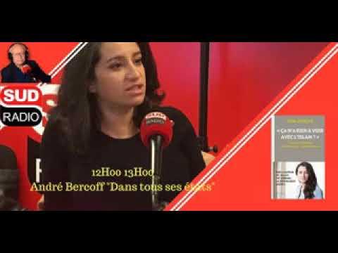 lydia guirous Sud radio Bercoff