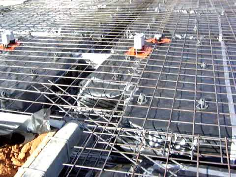 Home building 3 how to build a house concrete slab for Building a concrete house