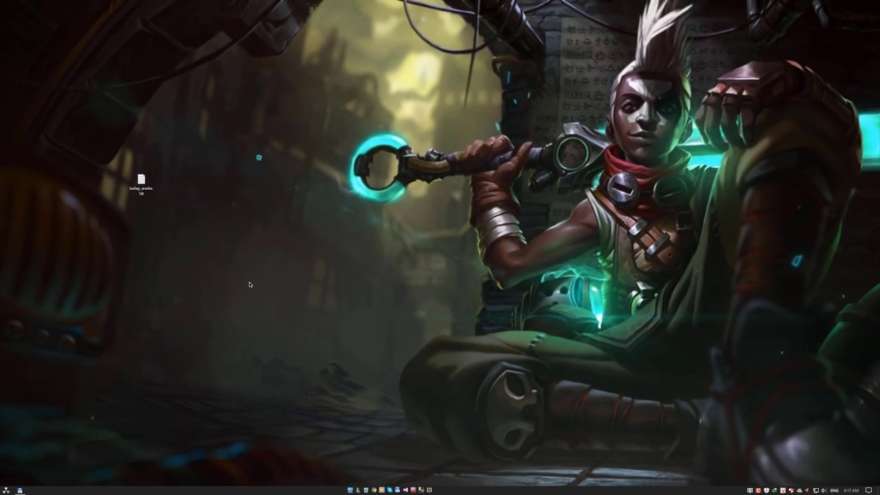 Ekko From League Of Legends Live Wallpaper Youtube