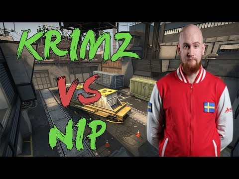 CSGO: POV fnatic KRIMZ vs NiP (31/17) train @ DreamHack Masters Marseille 2018