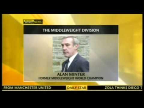 Alan Minter Interview