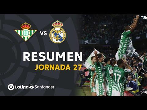 Resumen de Real Betis vs Real Madrid (2-1)