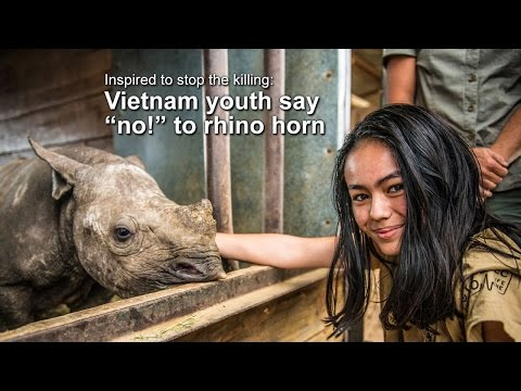 Vietnam Youth say NO to Rhino Horn