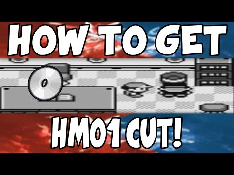 How to get HM01 Cut on Pokemon Red/Blue!