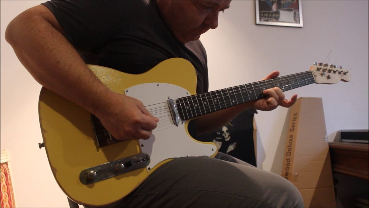 Country Stuff With My Harley Benton Guitar Kit T Style Youtube