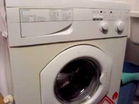 Ariston abs 536 tx youtube for Cestello lavatrice