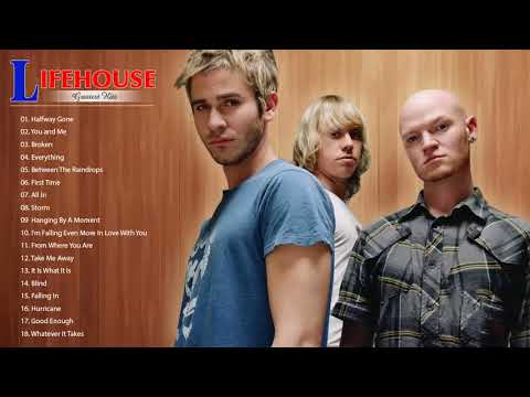 Lifehouse Greatest Hits Full Album - Lifehouse Best Songs - Lifehouse Playlist 2018