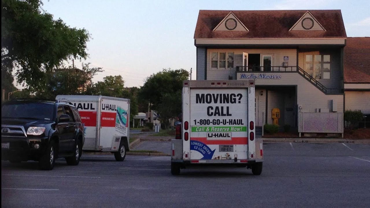 Moving out of Rental Property - Realty Masters in Pensacola, Florida