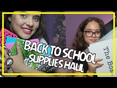 BACK TO SCHOOL SUPLIES HAUL