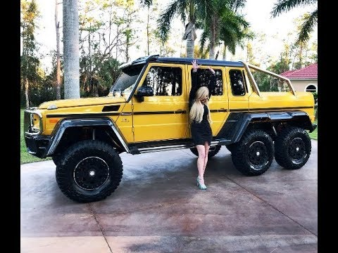 Mercedes 6X6 For Sale >> Insane Mercedes Benz G63 Amg 6x6 Review W Maryann Sold By Autohaus Of Naples