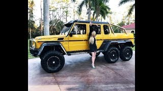 INSANE!!! Mercedes-Benz G63 AMG 6x6 review w/MaryAnn SOLD  by: AutoHaus of Naples!