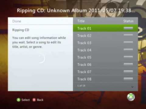 How to install music onto your Xbox