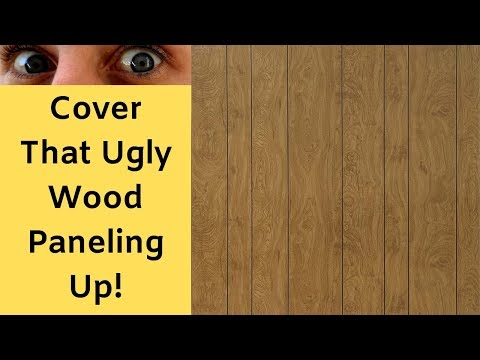 How To Cover Old Paneling with Drywall