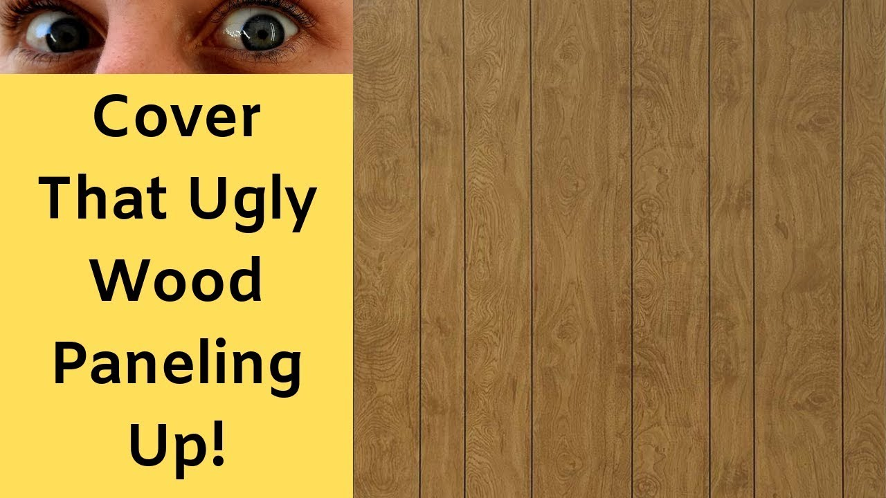 How To Cover Old Paneling With Drywall Youtube