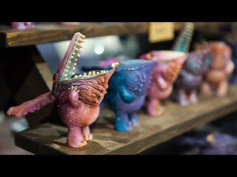 The Creature Model Kits at Monsterpalooza 2018!
