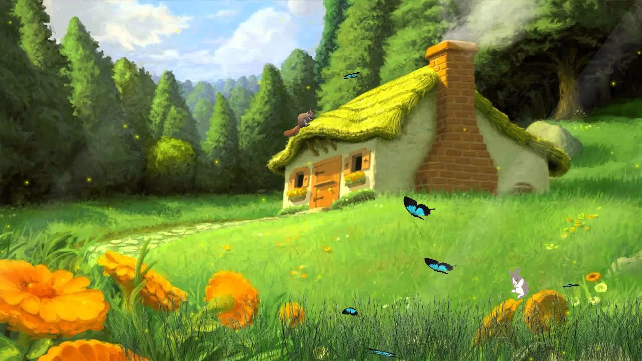 Tale houses animated wallpaper for Http pictures