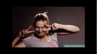Maria Sharapova dancing