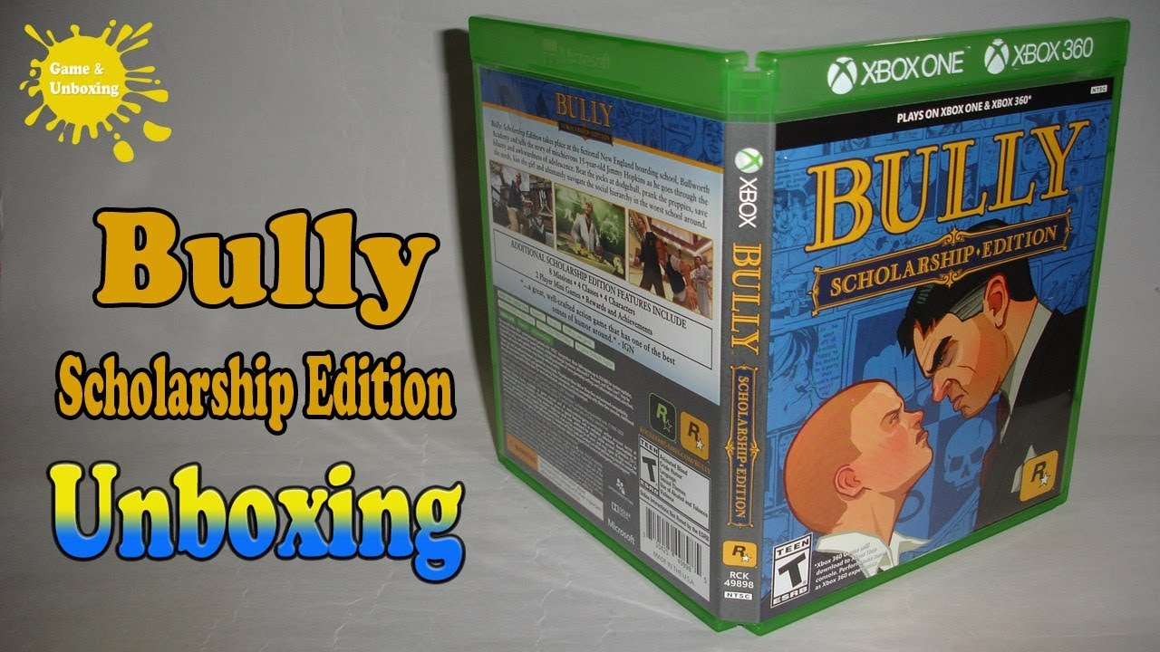 Bully: Scholarship Edition Xbox 360/Xbox One Unboxing & Overview
