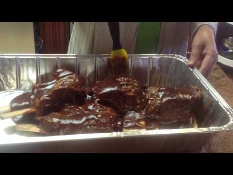Oven-Baked BBQ Beef Short Ribs