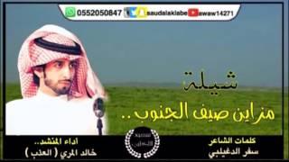 شيلة مزاين صيف الجنوب - كلمات الشاعر   سفر الدغيلبي - اداء   خالد المري العذب