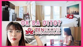 Cheap Staycation In Manila  Zen Rooms Fort Victoria  | Gen-zel Delas Alas