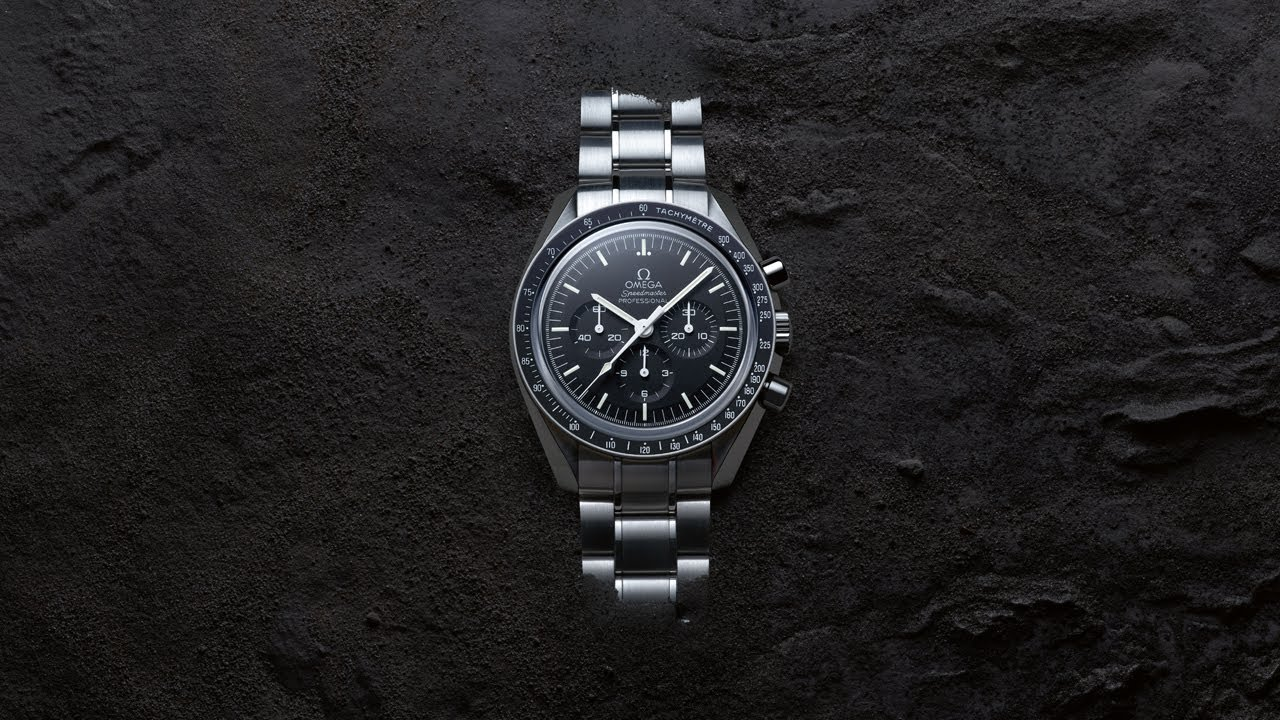 ecba6e9a3292 The OMEGA Speedmaster Moonwatch – A legendary icon - YouTube