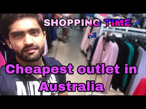 Cheapest Outlet In Australia || Shopping Time In Australia Brisbane