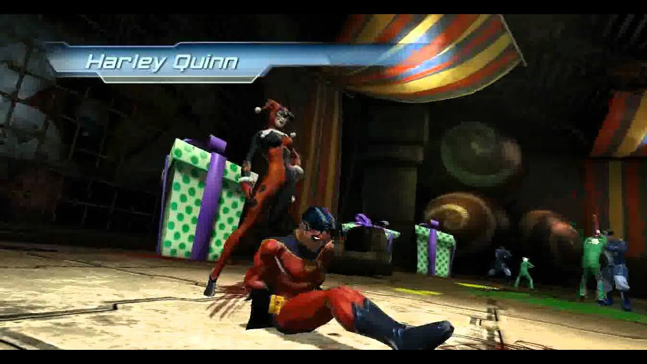 DC Universe Online - defeat harley quinn part 2 - YouTube