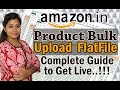 How to Add Products on Amazon India | Bulk upload Product listing on Amazon in Hindi