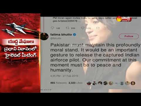 Fatima Bhutto Seeks release of indian Air Force Pilot in Pakistans Custody