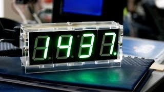 Diy 4 Digit Led Electronic Clock Kit