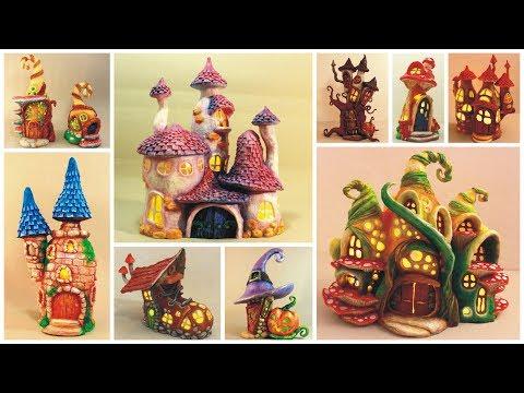 ❣10 DIY Fairy House Lamps Using Plastic Bottles❣