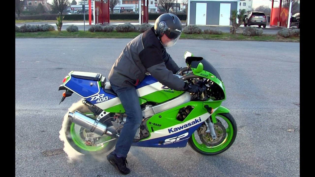 TEST Kawasaki ZXR400 Sport Production Year 1990 Vs ZXR 400 1991