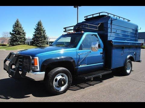 1992 Chevy C/K 3500 4x4 Utility Body Truck